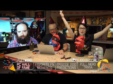 PC Hardware Hall Of Fame, Episode 200 Predictions, Full Nerd Moments/trivia | The Full Nerd Ep. 100