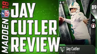 Jay Cutler Mini-Review! MUT 18 Budget Card Review