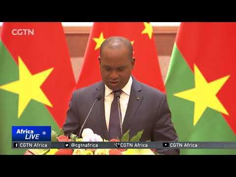 China, Burkina Faso resume official ties