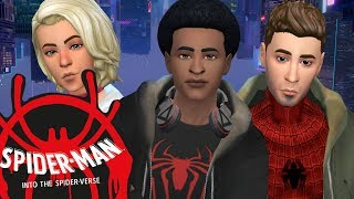 SPIDERMAN: INTO THE SPIDERVERSES   Sims 4 Create A Sim