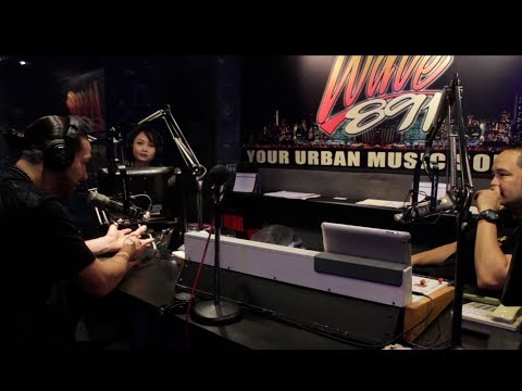 Stars Cry Interview - Full In Studio Live Broadcast Nationwide Interview at 89.1 The Wave