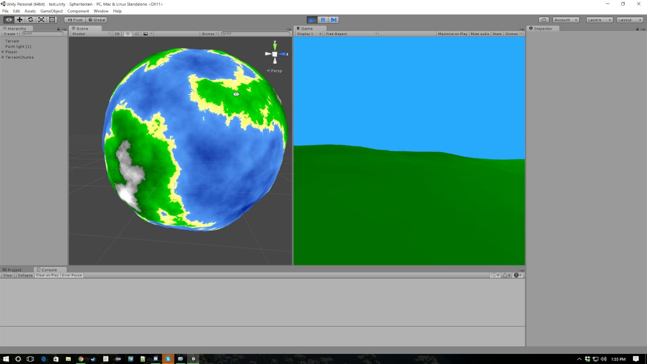 Unity Quadtree Lod Planet by Soxxxy