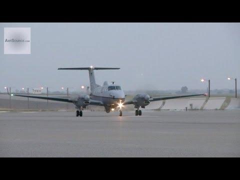 U.S. Air Force MC-12W Liberty Intelligence, Surveillance and Reconnaissance Aircraft