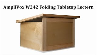W242 Travel-Lite Folding Tabletop Lectern