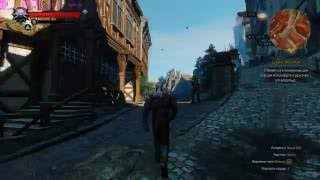 The Witcher 3 - MAX Setting - HW ON - GTX 1070/ i5 3570 (Новиград)