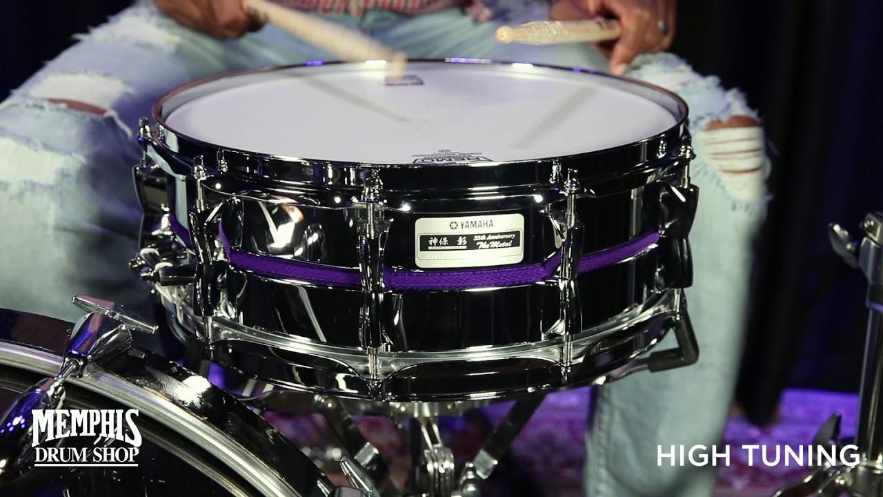 yamaha 14x5 the metal akira jimbo signature snare drum youtube. Black Bedroom Furniture Sets. Home Design Ideas