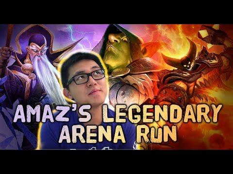 [Hearthstone] Amaz's Legendary Arena Run