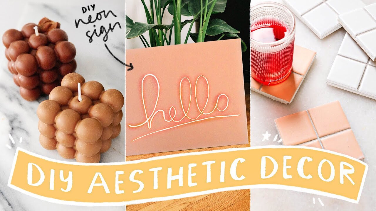 Aesthetic DIY Room Decor ✨ ☁️ Affordable + Viral DIY Hacks!