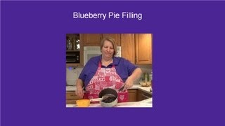 Blueberry Pie Filling Stove Top Recipe