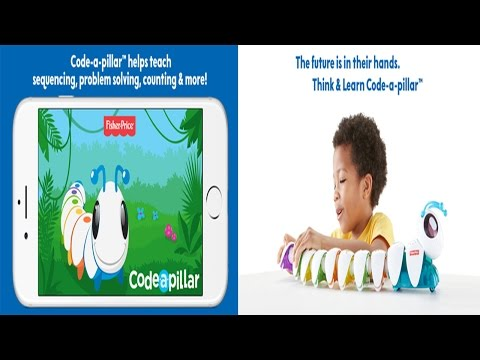 Fisher-Price® Think & Learn Code-a-pillar™- A Learning Game For Kids/Toddlers Level 7T010
