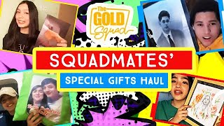 HAUL TIME! SPECIAL GIFTS FROM THE FANS | The Gold Squad