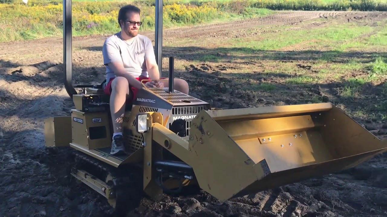 Our New Trail Machine! - Struck Magnatrac RS1000