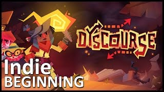 ►Dyscourse // Indie Beginning (Indie Game Preview and Gameplay)