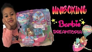 Unboxing 📦  Barbie Dreamtopic Chelsea Vehicle 🚤