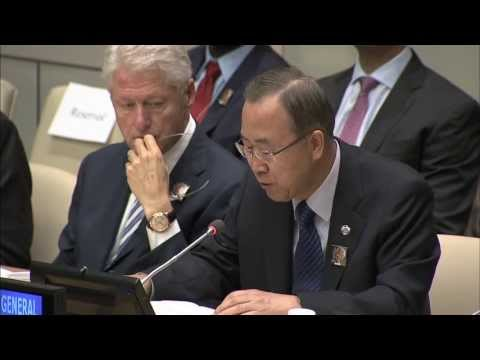 WorldLeadersTV: NELSON MANDELA INTERNATIONAL DAY at U.N.: BAN KI-MOON, BILL CLINTON, ANDREW MLANGENI