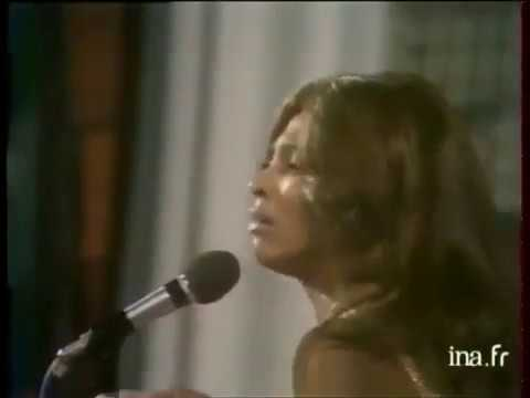 Ike and Tina Turner Proud Mary 1971 Cannes France
