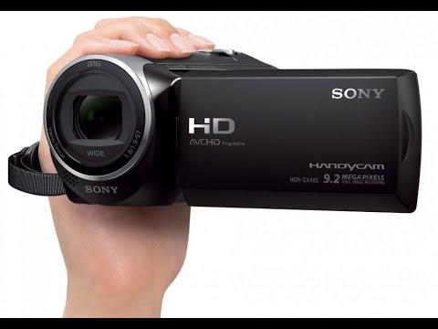 ZOOM TEST SONY CX405 Handycam® with Exmor R™ CMOS sensor