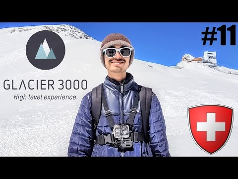 #11. India To Europe Trip - Day 5 | It's Snow Time Glacier 3000 | Mt Cox & Kings | Switzerland