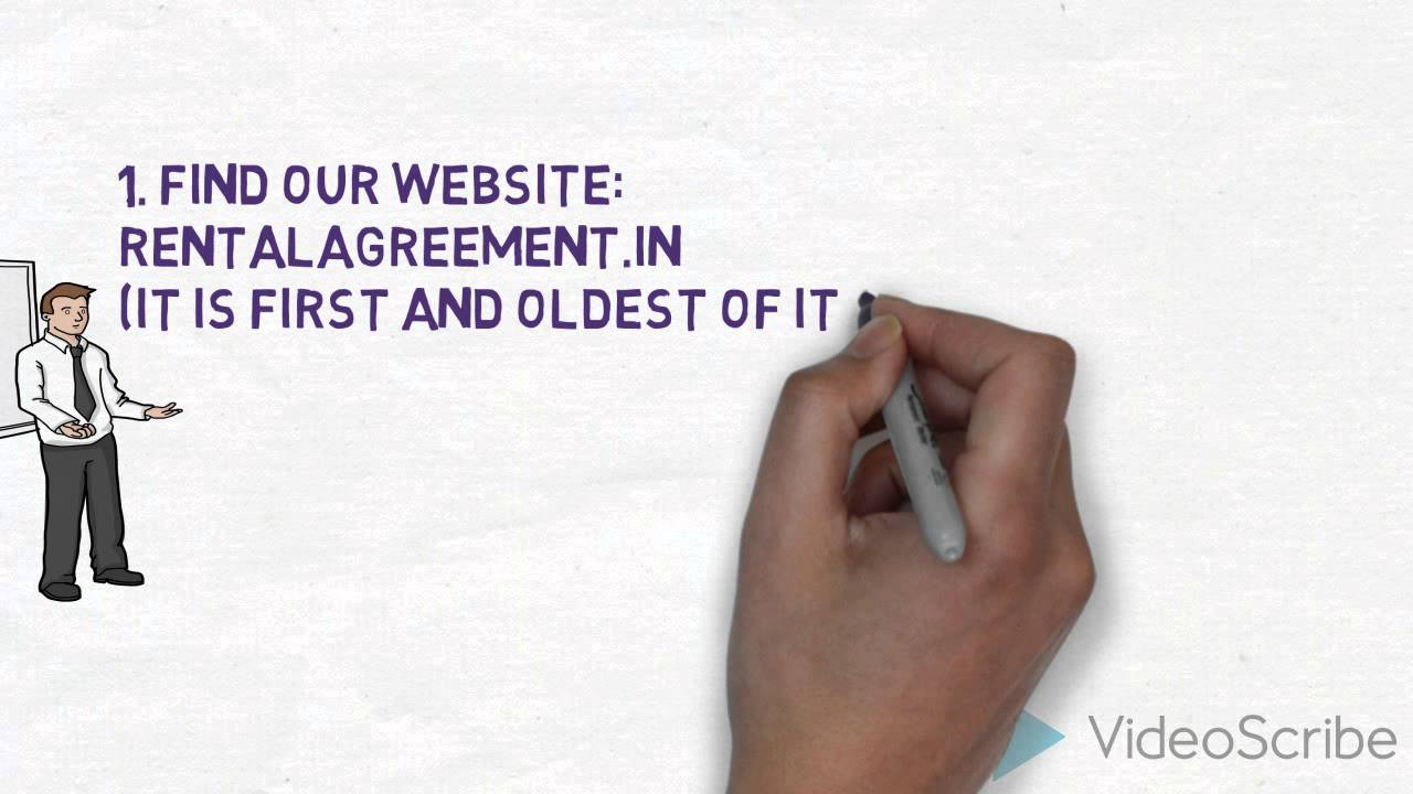 How To Create Rental Agreement Youtube