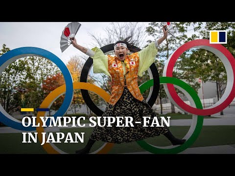 Japanese Olympic super-fan wants Games to go ahead despite Covid-19 pandemic