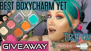 BEST BOXYCHARM/GIVEAWAY- NOVEMBER 2019 UNBOXING-TRY ON