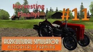 Agricultural Simulator Historical Farming - Episode 11 Harvesting