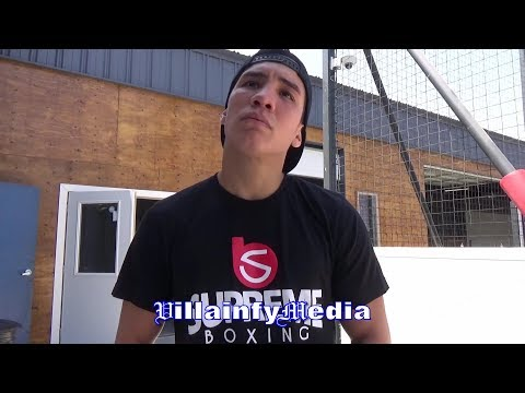 """OSCAR VALDEZ REVEALS NEXT OPPONENT, HAS """"MANNY PACQUIAO STYLE"""" """"LOMACHENKO GETS HIT"""" REACTS TO WIN"""