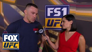 Colby Covington talks with Megan Olivi | INTERVIEW | UFC 225
