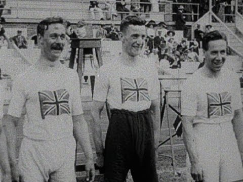 Gold and Silver, but no Bronze - 4x100m Relay - Athletics - Stockholm 1912 Olympic Games