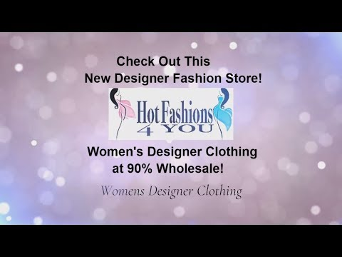 Get Women's Designer Clothes at 90% Wholesale. FREE Shipping World Wide. Shop Online