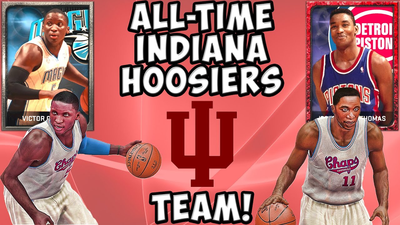the latest 5228a 965e3 All-Time Indiana Hoosiers Team - NBA 2K15 MyTeam - Ruby Isiah Thomas and  Victor Oladipo