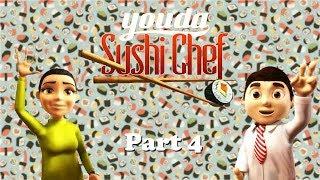 Youda Sushi Chef - Gameplay Part 4 (Day 7) Restaurant 1