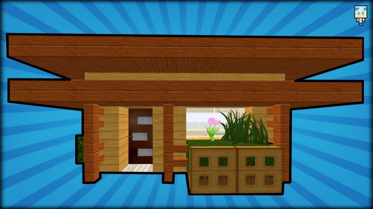Minecraft Tuto Comment Faire Une Belle Maison En Bois Youtube