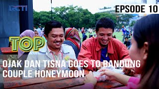 TUKANG OJEK PENGKOLAN - Ojak Dan Tisna Goes To Bandung - Couple Honeymoon | 17 April 2020
