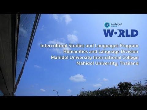 Intercultural Studies And Languages [by Mahidol]