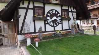 Naj kukučkové hodiny na svete Schonach + Múzeum hodín vo Furtwangene