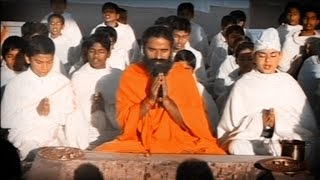 Vedic Samdhya and Agnihotra : Swami Ramdev   Acharyakulam, Haridwar   11 Feb 2015 (Part 2)
