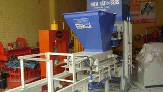 concrete bricks machine manufacturers in india