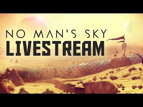 No Man's Sky Livestream on PS4