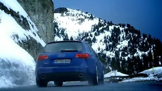 Audi RS6 Vs Para-skier: French Alps Race (HQ) | Top Gear | BBC thumbnail