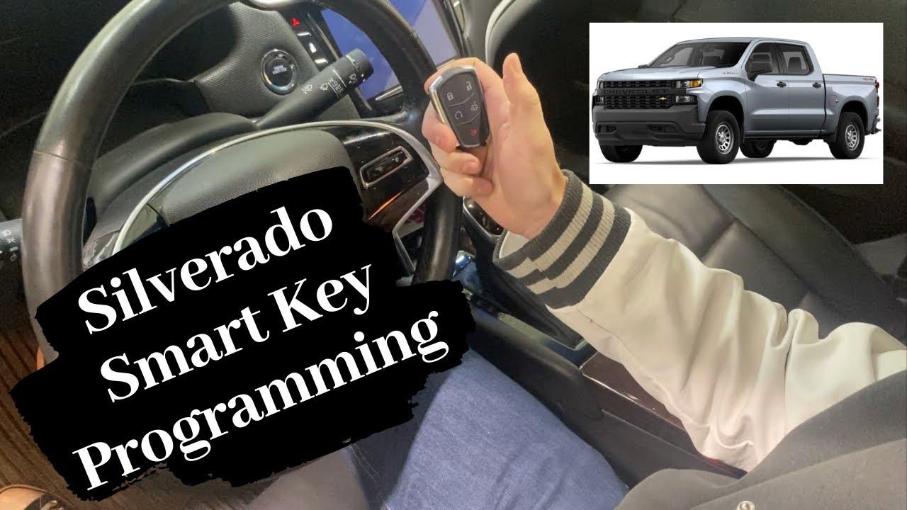 How To Program A Chevrolet Silverado Smart Key Remote Fob 2019