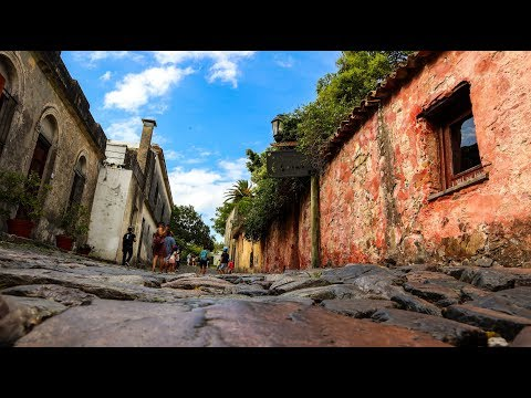 Cranky Kids in Historic Colonia Uruguay