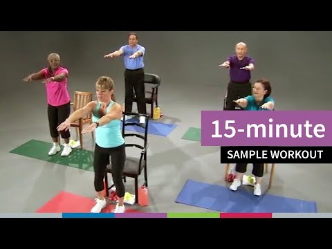 15-minute Sample Workout for Older Adults from Go4Life