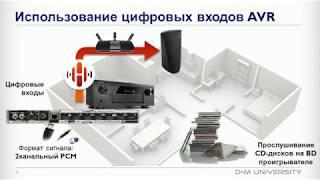 Технология HEOS в AV-ресиверах (курс обучения, лекция №2)