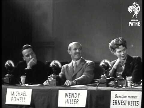 Filming The Brains Trust Aka Filming The Britain's Trust (1945)