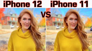 iPhone 12 VS iPhone 11 Camera Comparison!