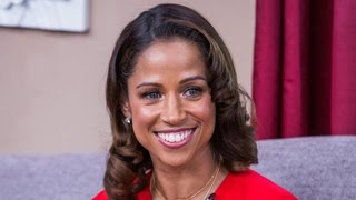 "Stacey Dash chats about ""Cloudy with a Chance of Love"""