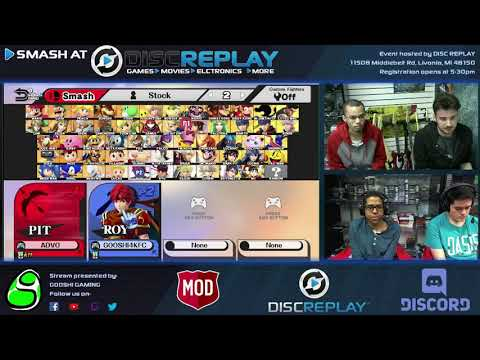 Smash Replay #9 LF: Advo (Mr. G&W/Samus) vs Gooshi|Zyth (Roy/Lucina)