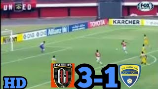 Bali United (INA) vs Thanh Hoa FC (Viet) 3-1 Piala AFC 2018, Full Highlight and all  goal 7-3-2018.