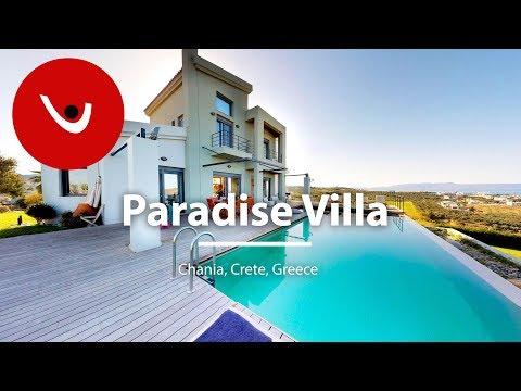 Paradise Villato Rent in Chania Crete Greece   Unique Villas   uniquevillas.gr